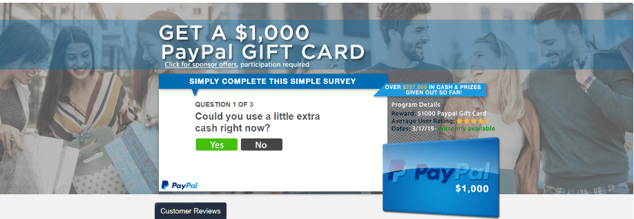 free paypal cash codes