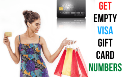 How to Get Empty Visa Gift Card Numbers for 2021